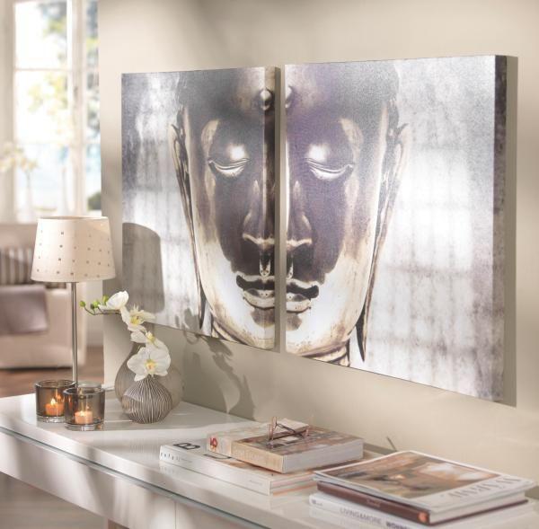 Slika Na Platnu Buddha - umetna masa/les (60/60cm) - MÖMAX modern living
