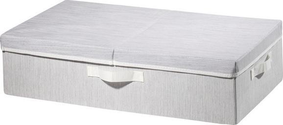 Aufbewahrungsbox Sonia Hellgrau - Hellgrau, MODERN, Textil (63/38/16cm) - Mömax modern living
