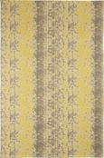Webteppich Textured Trio 160x230 cm - Gelb/Grau, KONVENTIONELL, Textil (160/230cm) - Premium Living