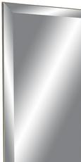 Wandspiegel in Silberfarben - Silberfarben, Glas (60/160cm)