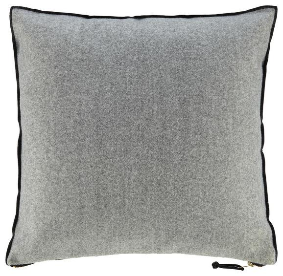 Kissen Tilda ca.45x45cm in Grau - Grau, MODERN, Textil (45/45cm) - Mömax modern living