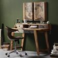 Wanddeko Braun - Braun, LIFESTYLE, Holzwerkstoff (98,5/60/5cm) - Modern Living