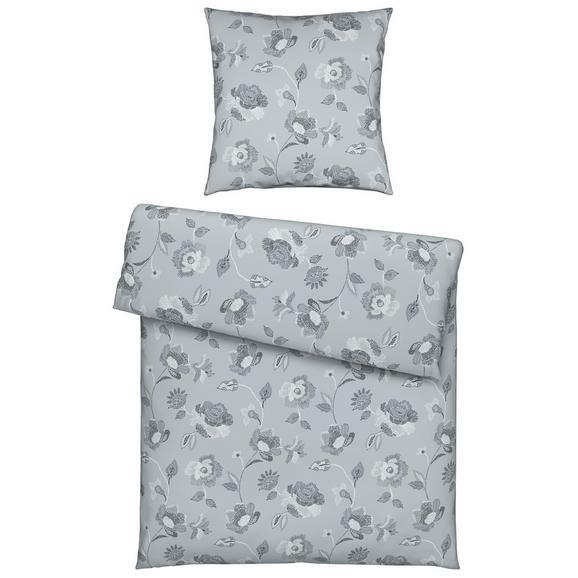 Bettwäsche Irene in Grau ca. 135x200cm - Grau, ROMANTIK / LANDHAUS, Textil (135/200cm) - Mömax modern living