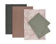Geschirrtuch-Set Lisa aus Baumwolle, 4-teilig - Rosa, MODERN, Textil (50/70cm) - Mömax modern living