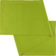 Asztali Futó Maren - Zöld, Textil (40X/150cm) - Mömax modern living