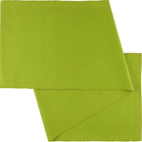 Tischläufer Maren in Grün - Grün, Textil (40/150cm) - Mömax modern living
