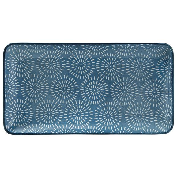 Tál Nina - Kék, Kerámia (12/22cm) - Mömax modern living