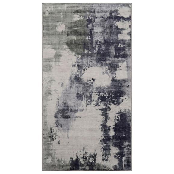 Covor Țesut Siena - verde/gri, textil (80/150cm) - Modern Living