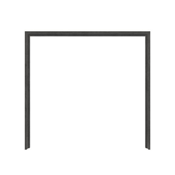 Passepartout in Dunkelgrau - Dunkelgrau, KONVENTIONELL, Holzwerkstoff/Kunststoff (231,1/215,9/23,8cm) - Modern Living