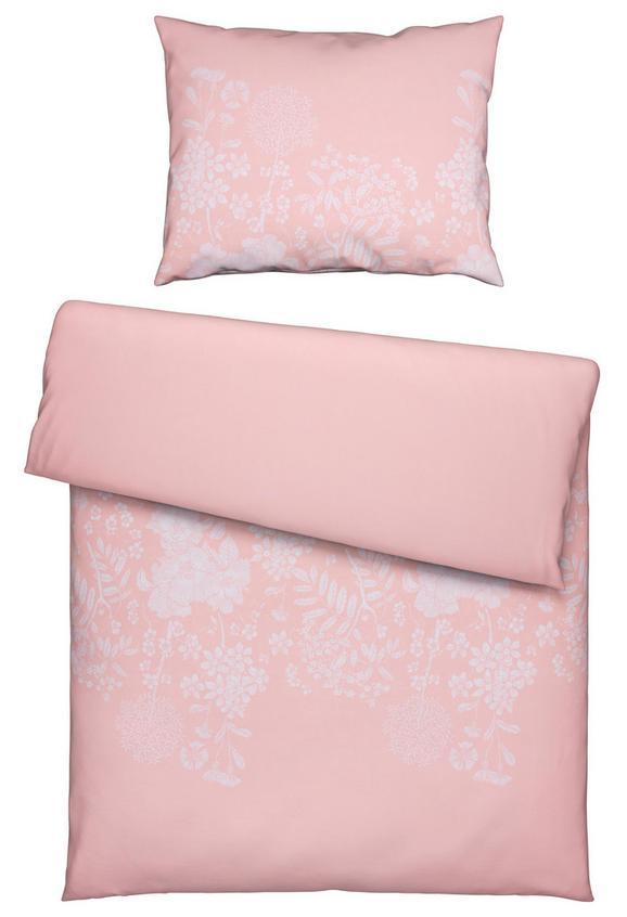 Bettwäsche Andrea Rosa 140x200cm - Rosa, ROMANTIK / LANDHAUS, Textil (140/200cm) - Mömax modern living