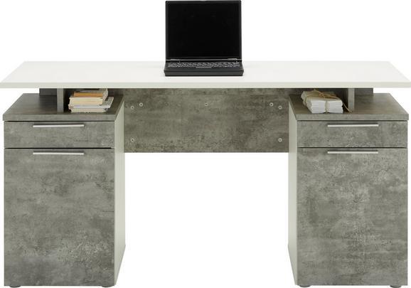 Pisalna Miza Net106 - siva/svetlo siva, Moderno, leseni material - Mömax modern living