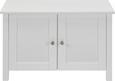 Schuhschrank Madalena - Weiß, MODERN, Holz/Metall (72/46/38cm) - Modern Living