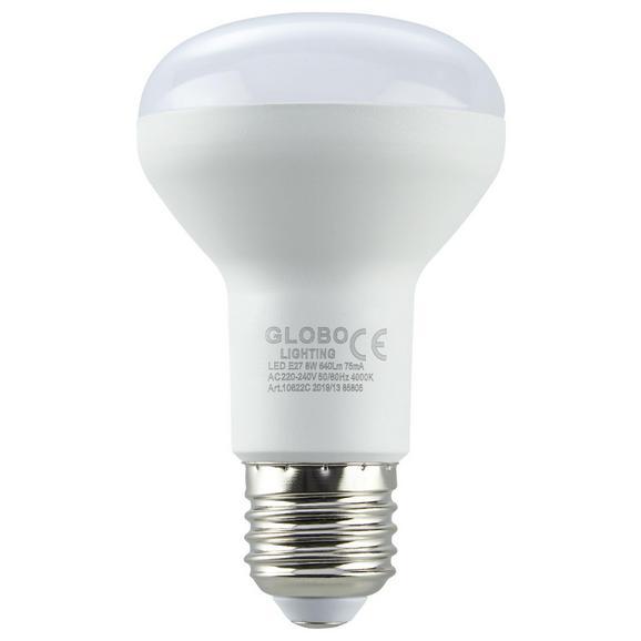 LED-Leuchtmittel 10622C max. 7 Watt - Weiß, Kunststoff (6,3/10,5cm)