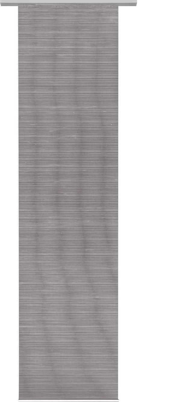 Flächenvorhang Loft in Grau, ca. 60x245cm - Grau, MODERN, Textil (60/245cm) - MÖMAX modern living
