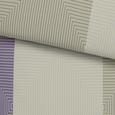 Bettwäsche Quadro Bunt 140x200cm - Flieder/Schwarz, Textil (140/200cm) - Mömax modern living
