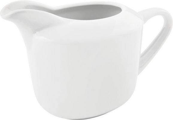 Milchkännchen Adria in Weiß - Weiß, KONVENTIONELL, Keramik (10,7/8,8cm) - Mömax modern living