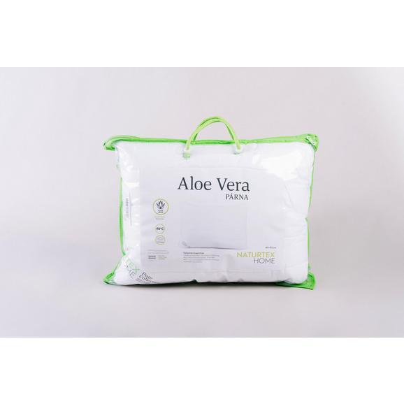 Párna Aloe-vera 40/50 - Fehér, Textil (40/50cm)