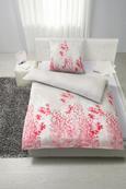Bettwäsche Arabella Stein/beere 135x200cm - Pink/Beere, KONVENTIONELL, Textil (135/200cm) - Mömax modern living