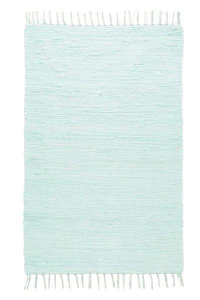 Fleckerlteppich Julia in Grün, ca. 60x90cm - Hellgrün, ROMANTIK / LANDHAUS, Textil (70/130cm) - Mömax modern living