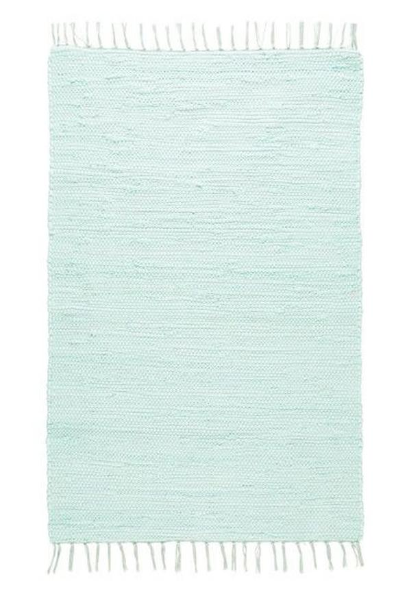 Fleckerlteppich Julia in Grün, ca. 70x230cm - Hellgrün, ROMANTIK / LANDHAUS, Textil (70/230cm) - Mömax modern living