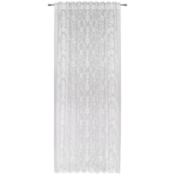 Kombivorhang Carmen Weiß - Weiß, Textil (140/245cm) - Mömax modern living