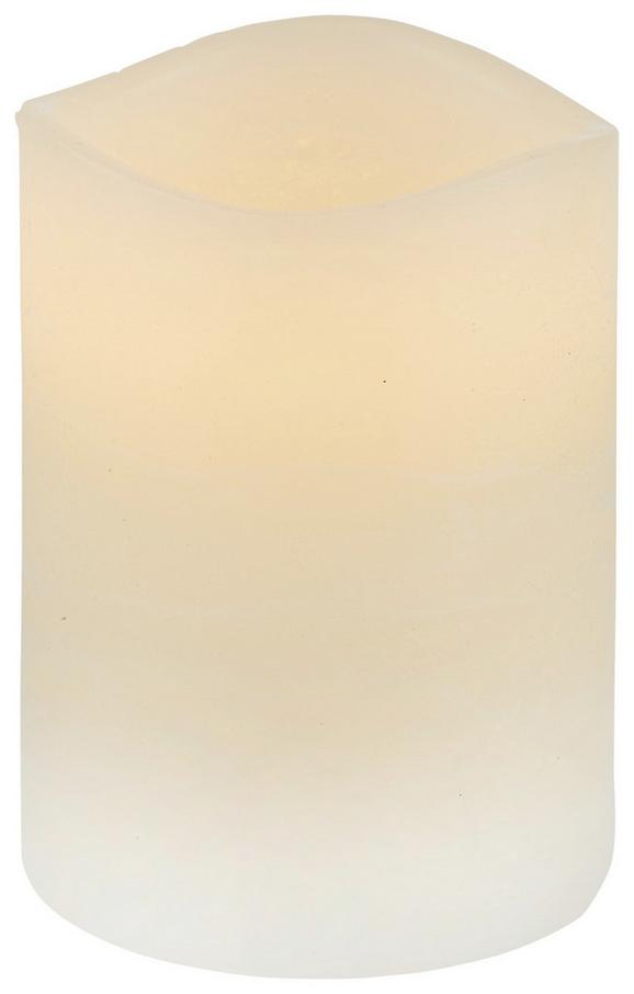 Sveča Z Led-diodo Leonie - krem, umetna masa (7,5/10cm) - Mömax modern living