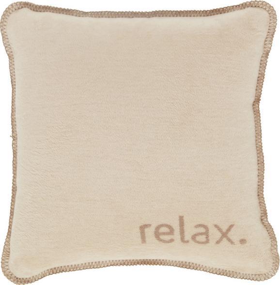 Zierkissen Relax, ca. 50x50cm - Taupe/Beige, KONVENTIONELL, Textil (50/50cm) - PREMIUM LIVING