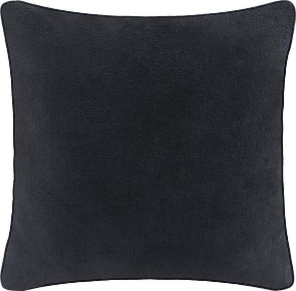 Zierkissen Carolyn 45x45cm - Dunkelgrau, MODERN, Textil (45/45cm) - Mömax modern living