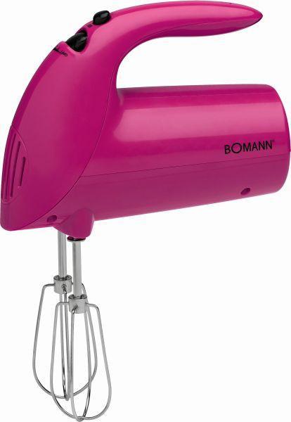 Kézi Mixer Bomann - pink, műanyag (18/28/9cm) - BOMANN
