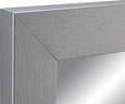 Stensko Ogledalo Silver - srebrna, steklo/leseni material (50/150/2cm)