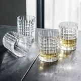 Whiskygläserset Nachtmann Square 4-teilig - Klar, MODERN, Glas - Nachtmann