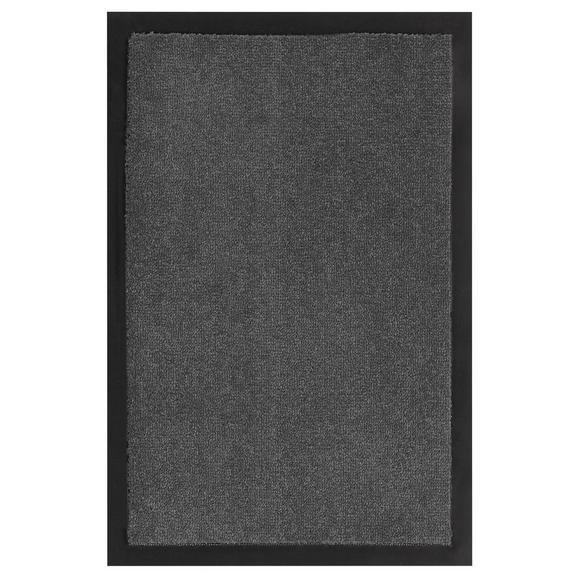 Fußmatte Eton in Grau ca. 40x60cm - Grau, LIFESTYLE, Textil (40/60cm) - Mömax modern living