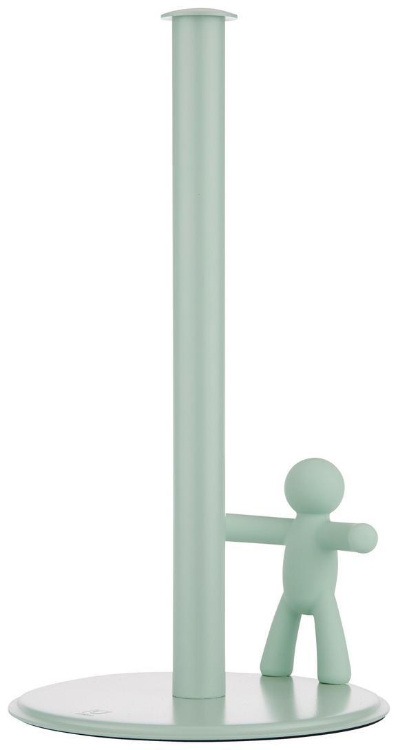 Stojalo Za Kuhinjske Brisače Ute In Mintgrün - meta zelena, Moderno, kovina/umetna masa (18,2/33,7cm) - Premium Living