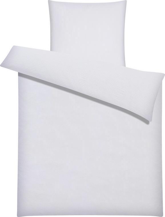 Bettwäsche Brigitte in Weiß, ca.135x200cm - Weiß, KONVENTIONELL, Textil - MÖMAX modern living