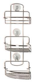 Koplaniški Regal Milano 7 - srebrna, Konvencionalno, kovina (26/57,5/20cm) - Mömax modern living