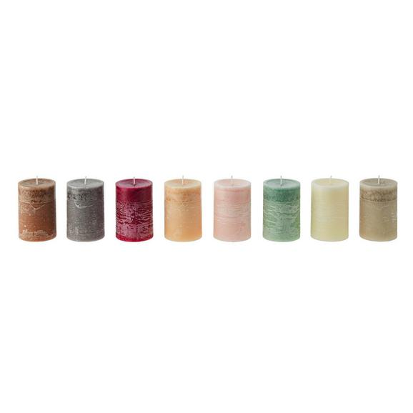 Sveča Anita -top- - lila/roza, Moderno (6,3/10cm) - Premium Living