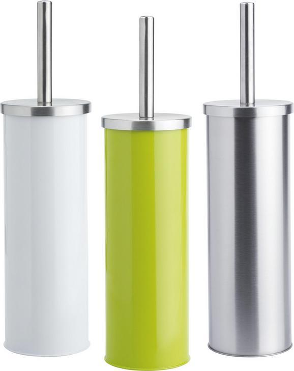 Wc-kefe Szett Beate - ezüst színű/nemesacél színű, konvencionális, műanyag/fém (9,5/26,7cm) - MÖMAX modern living