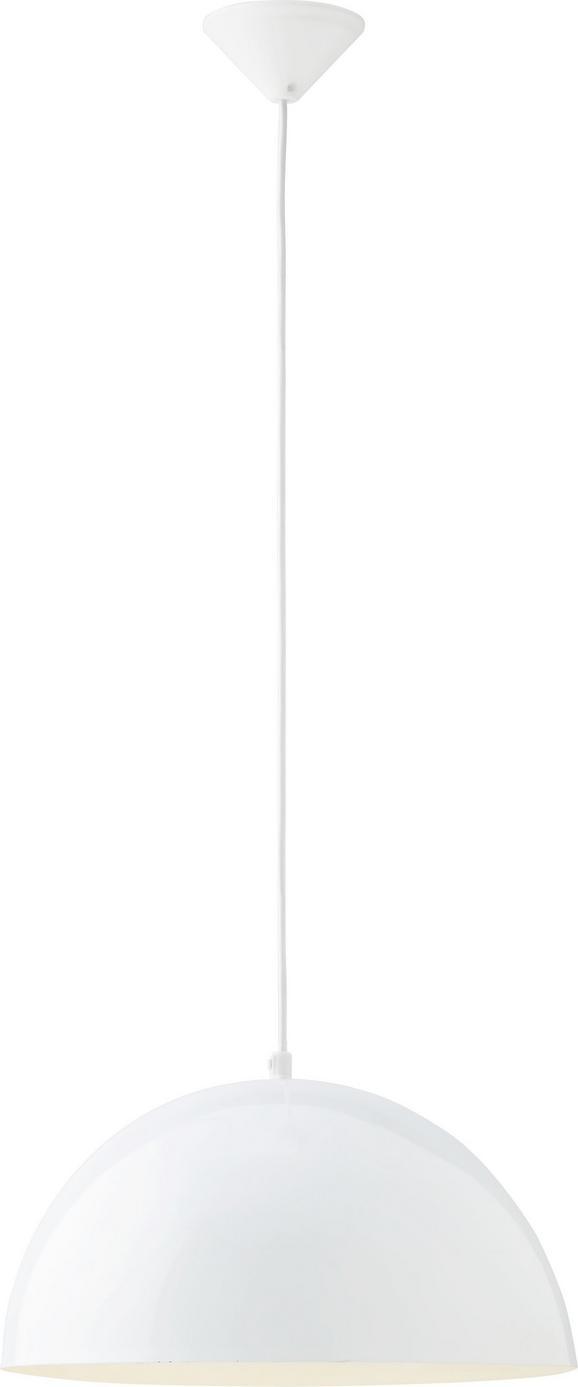 Pendelleuchte Aron - Weiß, MODERN, Metall (40/130cm) - Mömax modern living