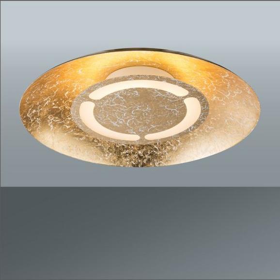 LED-Deckenleuchte Tabea in Gold, max. 12 Watt - Goldfarben, MODERN, Metall (34,5/7,3cm)