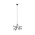 Hängeleuchte Titus max. 40 Watt - Schwarz, MODERN, Metall (72/69cm) - Modern Living