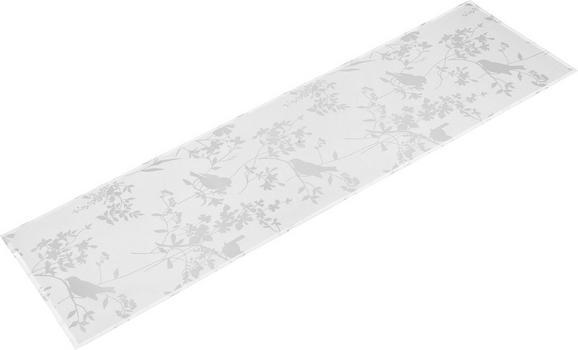 Nadprt Blume/vögel - naravna, Romantika, tekstil (45/150cm) - MÖMAX modern living