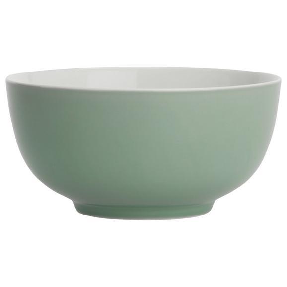 Bol Pentru Cereale Sandy - verde mentă, Konventionell, ceramică (13,7/6,6cm) - Modern Living