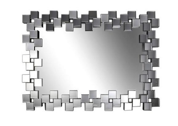 Tükör Tivoli - Ezüst, Fa (120/85,5/4,7cm) - MÖMAX modern living