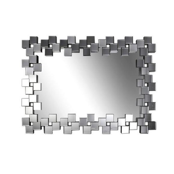 Wandspiegel ca. 120x85,5x4,7cm - Silberfarben, Holz (120/85,5/4,7cm) - Mömax modern living