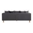 SOFA in grau inkl. 10 Kissen 'Leno' - Grau, MODERN, Holz/Textil (229/73/112cm) - Bessagi Home