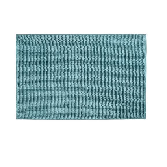 Badematte Nelly Aqua 60x90cm - Türkis, Textil (60/90cm) - Mömax modern living