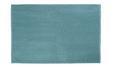 Badematte Nelly Aqua - Türkis, Textil (60/90cm) - Mömax modern living