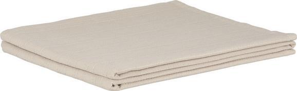 Überwurf Solid One, ca. 140x210cm - Beige, Textil (140/210/cm)