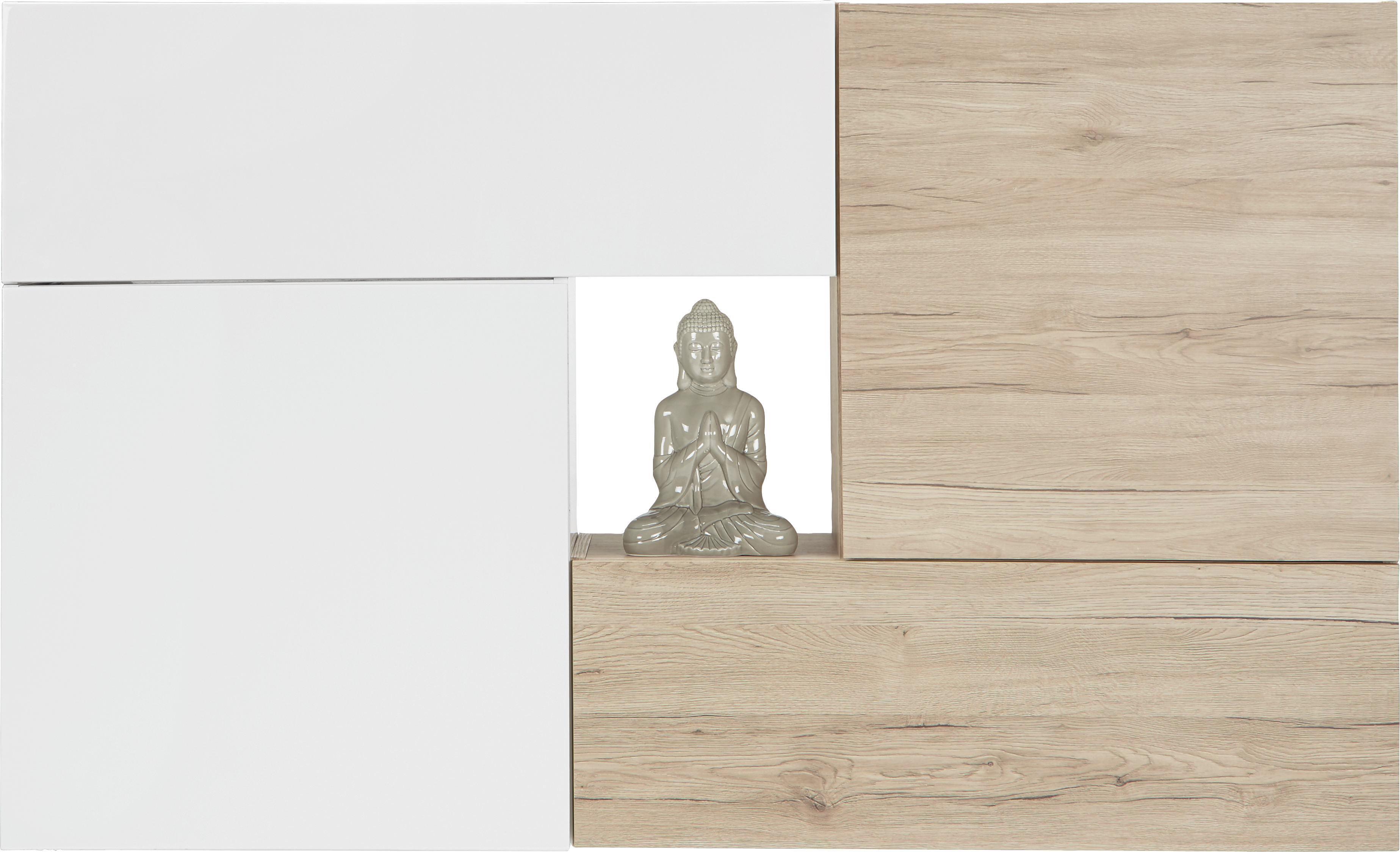 Hängeschrank in Weiß Hochglanz - Weiß, MODERN, Holzwerkstoff (60/60/34cm) - MÖMAX modern living