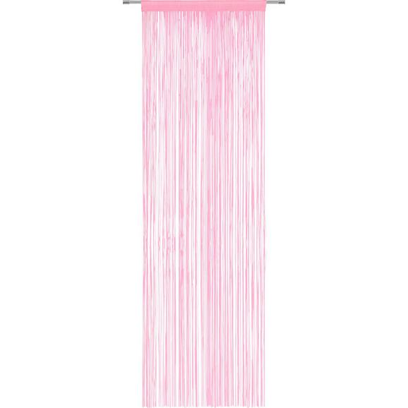 NITASTA ZAVESA VICTORIA - roza, tekstil (90/245cm) - Mömax modern living